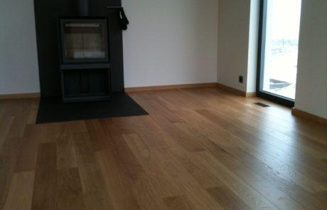 Montáž třívrstvé podlahy